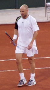 Hair Loss Boldness Andre_Agassi_2005_US_Clay_Court